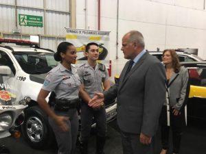 POLICIAMENTO RODOVIÁRIO PARTICIPA DA 22ª FEIRA INTERNACIONAL DE SEGURANÇA - ExpoSec