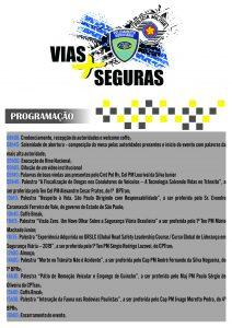 Ciclo de Palestras: Vias Mais Seguras - Estratégias e Inovações (05NOV19, terça-feira)