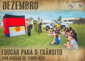 CAMPANHA DO MÊS DE DEZEMBRO: A TAREFA DE EDUCAR