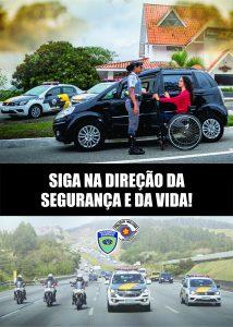 CAMPANHA EDUCATIVA DE TRÂNSITO DO MÊS DE ABRIL (CALENDÁRIO 2020 DO POLICIAMENTO RODOVIÁRIO)