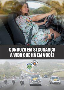 CAMPANHA PARA O MÊS DE MAIO: CONDUZA EM SEGURANÇA A VIDA QUE HÁ EM VOCÊ!